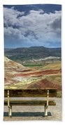 The Overlook At Painted Hills In Oregon Bath Towel