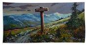 The Paintbrush Trail, Manning Provincial Park, B C Bath Towel