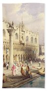 The Palaces Of Venice Bath Towel