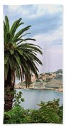 The Palm Is Always Associated With Summer, Sea, Travelling To Warm Countries And Rest Bath Towel