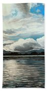 The Panoramic Painting Bath Towel