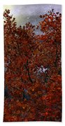 The Passion Of Autumn Bath Towel