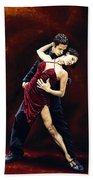 The Passion Of Tango Bath Towel