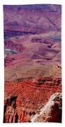 The Path Of The Colorado River Bath Towel