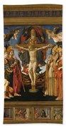 The Pistoia Santa Trinita Altarpiece Bath Towel