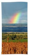 The Pleasant View Rainbow Hand Towel