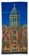 The Presidio County Courthouse Bath Towel