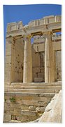 The Propylaia In Athens          The Propylaia - Vertical                                    Hand Towel