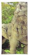 The Proud Lion  Bath Sheet