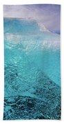 The Pure Blue Bath Towel