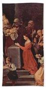 The Purification Of The Virgin 1640 Bath Towel