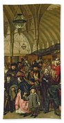The Railway Station Bath Towel