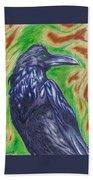 The Raven  Bath Towel