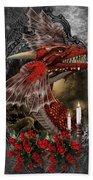 The Red Dragon Bath Towel