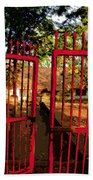 The Red Gate Bath Towel