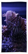 The Red Lionfish Bath Towel