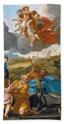 The Return Of The Holy Family From Egypt Bath Towel