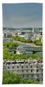 The River Of Paris Bath Towel