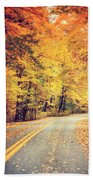 The Road Less Traveled Bath Towel