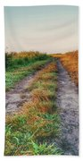 The Road To Nowhere Bath Towel