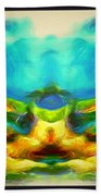 The Road To Paradise Bath Towel