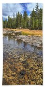 The Rocks Of Rock Creek Bath Towel