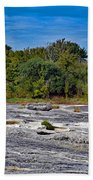 The Rocky Limestone Trail  Bath Towel