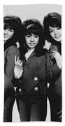 The Ronettes 1966 Bath Towel