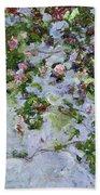 The Roses Bath Towel