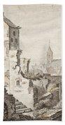 The Ruins Of Utrecht Hand Towel