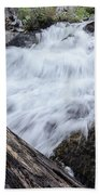 The Rushing River Bath Towel