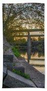 The Schuylkill Steps - East Falls - Philadelphia Bath Towel