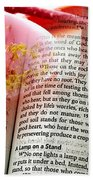 The Seed Is The Word Of God Bath Towel