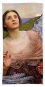The Sense Of Sight By Annie Swynnerton  Bath Towel