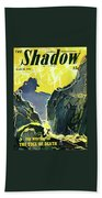 The Shadow The Mystery Of The Toll Of Death Bath Sheet
