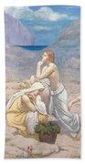 The Shepherd's Song, 1891 Bath Towel