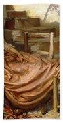 The Siesta, 1909 Bath Towel