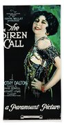 The Siren Call Hand Towel