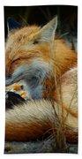 The Sleepy Fox Bath Towel