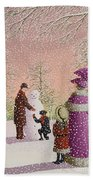 The Snowman Bath Towel