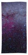 The Southern Milky Way Bath Towel