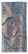 The Stone Fish Hand Towel