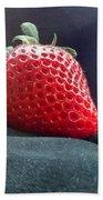 The Strawberry Portrait Bath Towel