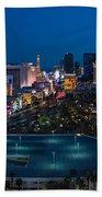 The Strip Las Vegas Bath Towel