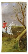 The Suffolk Hunt - Gone Away Bath Towel