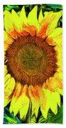 The Sunflower Bath Towel
