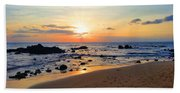 The Sunset Of Maui Hand Towel