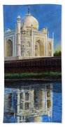 The Taj Mahal Shrine Of Beauty Hand Towel