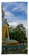 The Three Buddhas  Bath Towel