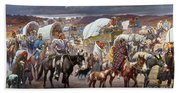 The Trail Of Tears Bath Towel